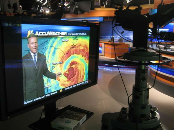 The ABC11 studio in Durham. <span class=meta>(WTVD Photo&#47; Ian Slack)</span>