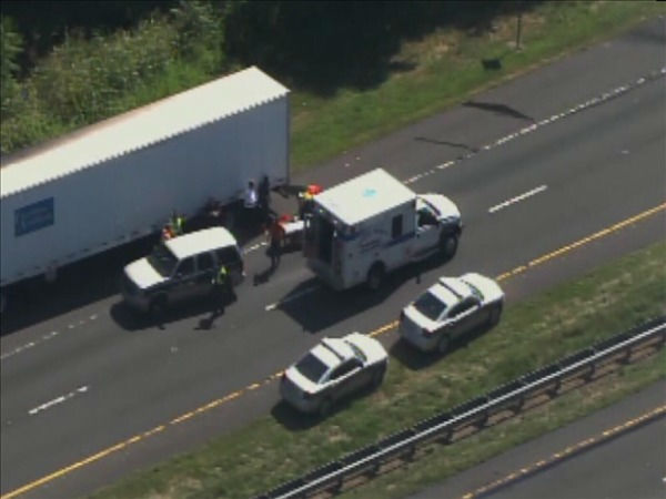 "<div class=""meta image-caption""><div class=""origin-logo origin-image ""><span></span></div><span class=""caption-text"">A huge crash on Interstate 85 triggered a fire Thursday morning. (WTVD Photo/ Chopper 11 HD)</span></div>"