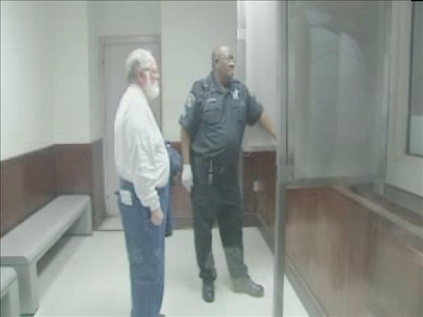 John Peters appears before a magistrate in Raleigh Wednesday Jan. 12. <span class=meta>(WTVD Photo)</span>