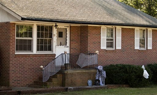 The home where Zahra Clare Baker was last seen in Hickory, N.C. <span class=meta>(AP Photo&#47; Chris Keane)</span>