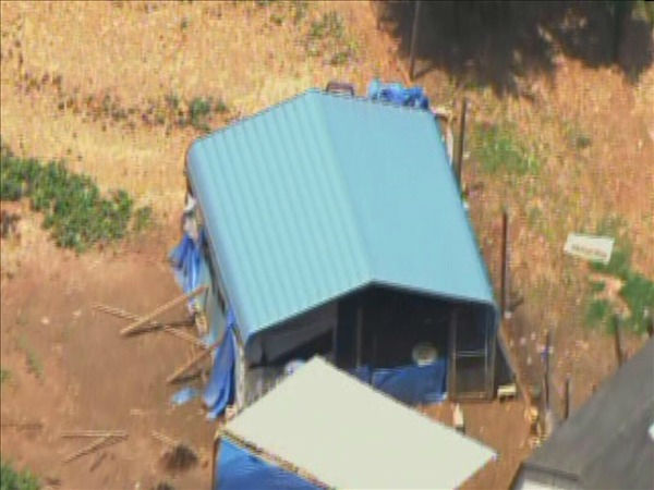 Franklin County animal control officers went to a home near Zebulon Monday and seized more than 100 animals. <span class=meta>(WTVD Photo&#47; Chopper11 HD)</span>