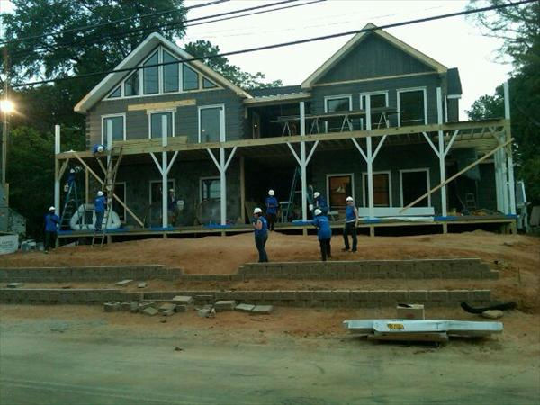 "<div class=""meta ""><span class=""caption-text "">The home before the landscaping is installed. (WTVD Photo/ Jim Schumacher)</span></div>"