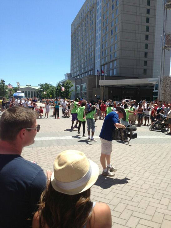 4th of July on Fayetteville Street in downtown Raleigh. <span class=meta>(WTVD Photo)</span>