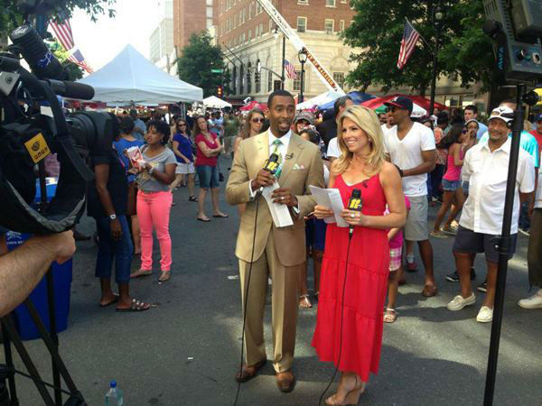 Celebrating the 4th of July in Raleigh. <span class=meta>(WTVD Photo)</span>