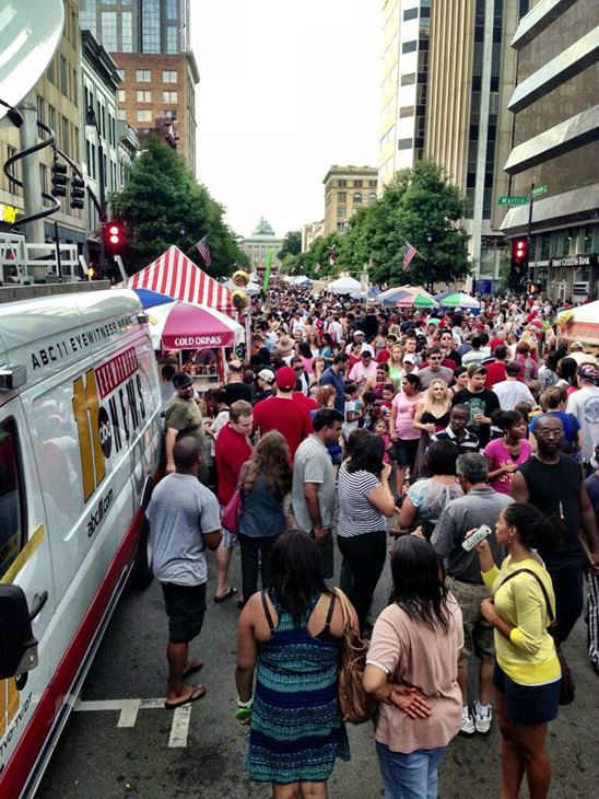 4th of July in Raleigh. <span class=meta>(WTVD Photo)</span>