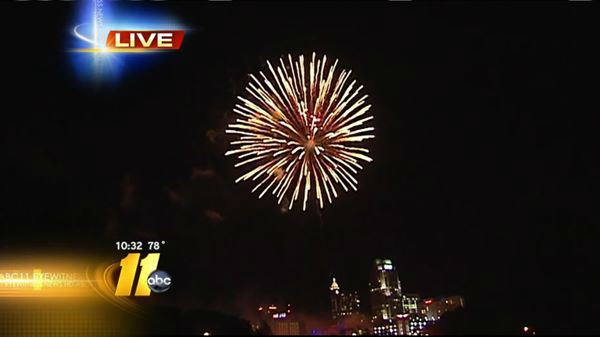 "<div class=""meta ""><span class=""caption-text "">Fireworks celebrate the 4th of July in Raleigh. (WTVD Photo)</span></div>"