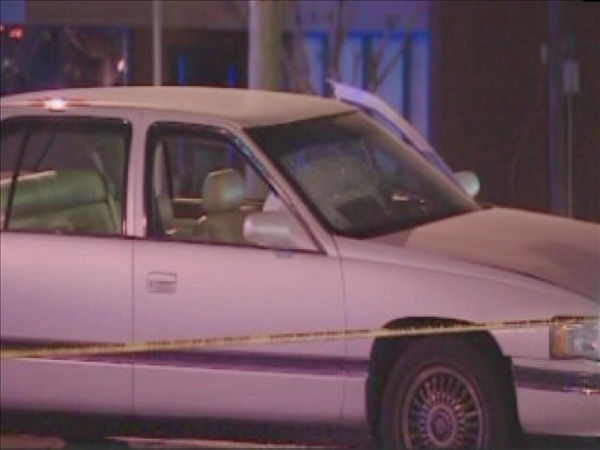 Police say a man and his daughter were shot after a car accident in Fayetteville Tuesday night <span class=meta>(WTVD Photo&#47; Fred Heggs)</span>