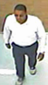 "<div class=""meta ""><span class=""caption-text "">Police detectives and Sheriff's investigators are interested in speaking with man seen in this surveillance picture. (Raleigh Police Photo)</span></div>"