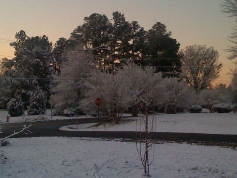 Snow pictures from around the Triangle <span class=meta>(WTVD Photo&#47; ABC11 viewer submitted photo)</span>