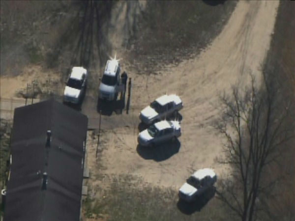 Officials raid a Butterball turkey facility in Hoke County. <span class=meta>(WTVD Photo&#47; Chopper 11 HD)</span>