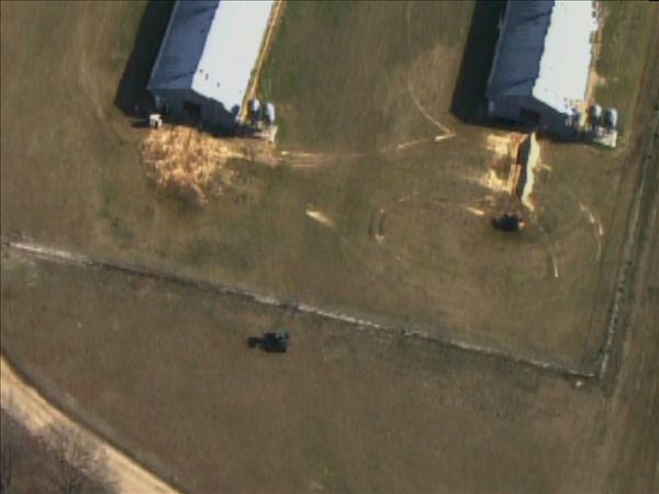 "<div class=""meta ""><span class=""caption-text "">Officials raid a Butterball turkey facility in Hoke County. (WTVD Photo/ Chopper 11 HD)</span></div>"
