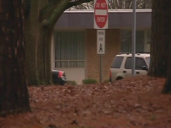 The Wake Tech campus was placed on lockdown Tuesday morning after a report of an armed intruder. <span class=meta>(WTVD Photo&#47; Jim Schumacher)</span>