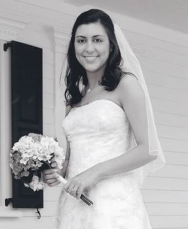 Jamie Hahn on her wedding day <span class=meta>(Orangeburg Times and Democrat Photo)</span>