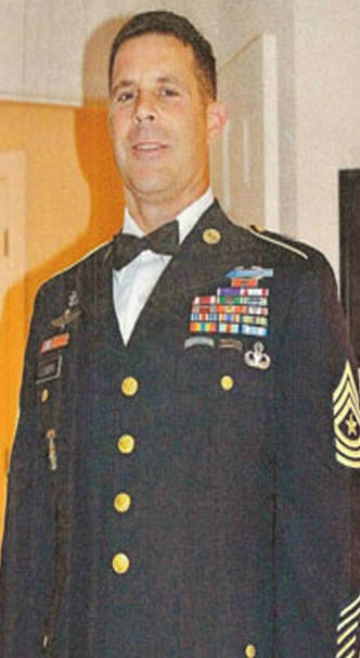 Army Sgt. Maj. William Lubbers.