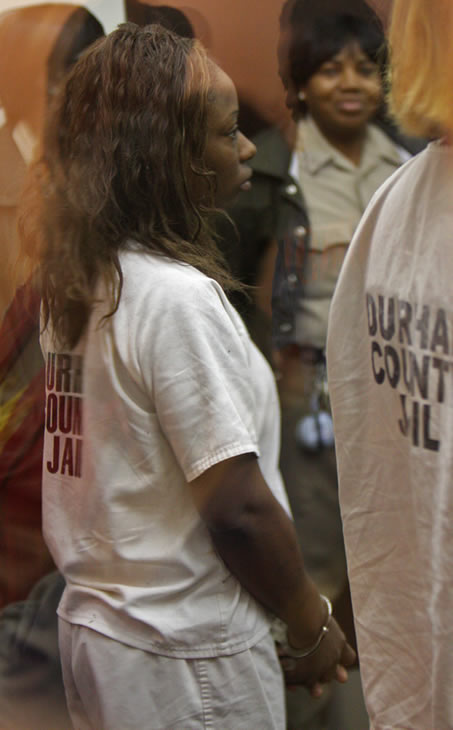 Mangum appears for a bail hearing on Monday March 4, 2011 <span class=meta>(WTVD Photo\ Julian Harrison)</span>