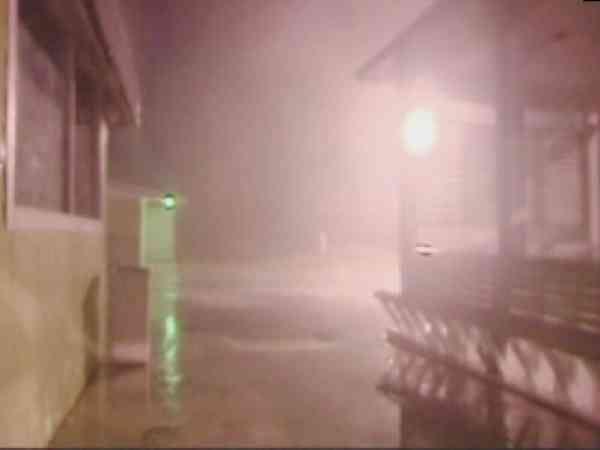 Wind and rain reduces the visibility to about 50 feet early Friday along the Outer Banks. <span class=meta>(WTVD Photo)</span>