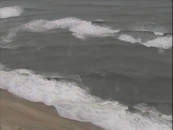 Chopper 11 HD flies over the Outer Banks after Hurricane Earl passed offshore. <span class=meta>(WTVD Photo)</span>