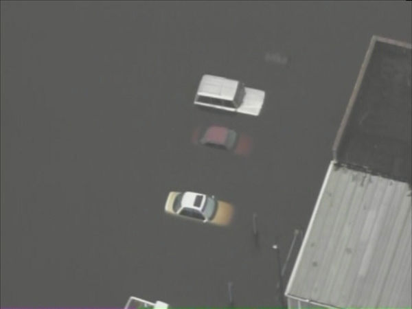 "<div class=""meta ""><span class=""caption-text "">Pictures from Chopper 11 HD show Windsor, NC - about 120 miles east of Raleigh - inundated by the rising Cashie River. (WTVD Photo/ Chopper 11 HD)</span></div>"