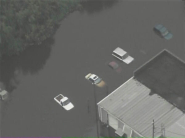 Pictures from Chopper 11 HD show Windsor, NC - about 120 miles east of Raleigh - inundated by the rising Cashie River. <span class=meta>(WTVD Photo&#47; Chopper 11 HD)</span>