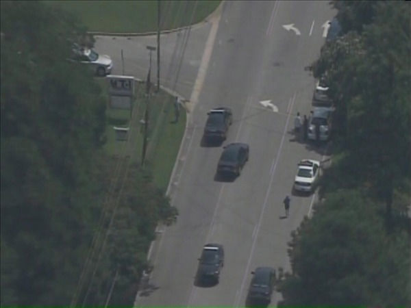 Police had several blocks around the crime scene blocked off while they investigated. <span class=meta>(WTVD Photo)</span>