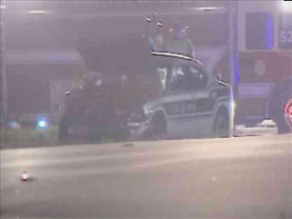 "<div class=""meta image-caption""><div class=""origin-logo origin-image ""><span></span></div><span class=""caption-text"">A North Carolina Highway Patrol trooper was hurt in an accident that left a woman dead Tuesday night in Rocky Mount.</span></div>"