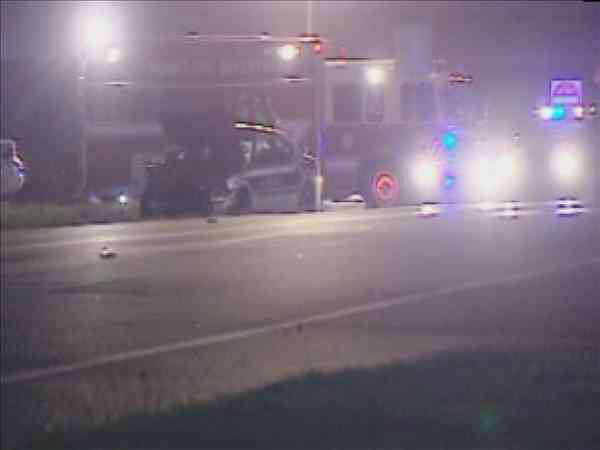 A North Carolina Highway Patrol trooper was hurt in an accident that left a woman dead Tuesday night in Rocky Mount.