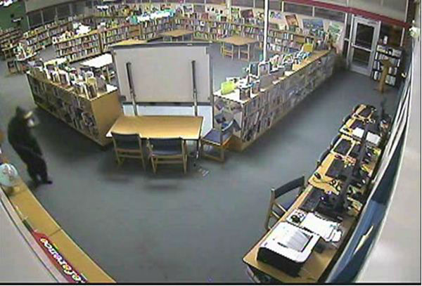 "<div class=""meta ""><span class=""caption-text "">The Wake County Public School System is asking the community to help to catch a thief or thieves who broke into three schools and walked away with thousands of dollars in electronic equipment.  (Photo/Image courtesy WCPSS)</span></div>"