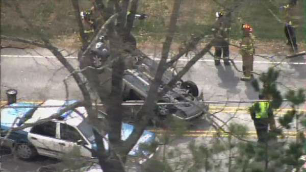 "<div class=""meta image-caption""><div class=""origin-logo origin-image ""><span></span></div><span class=""caption-text"">Crash along Avent Ferry Road near The Oaks and Athens drives in Raleigh Tuesday, March 25, 2014.  (Photo/Chopper11 HD)</span></div>"