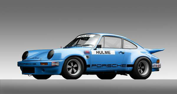 IROC Porsche Type 911 Carrera RSR, 1974, Courtesy of the William E. &#40;Chip&#41; Connor Collection. A new show at the North Carolina Museum of Art traces the evolution of the iconic car brand. <span class=meta>(Photograph &#38;copy; 2013 Michael Furman via NCMA)</span>