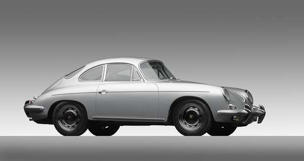Porsche Type 356C Carrera 2 Coupe, 1964, Courtesy of the Ingram Collection. A new show at the North Carolina Museum of Art traces the evolution of the iconic car brand. <span class=meta>(Photograph &#38;copy; 2013 Michael Furman via NCMA)</span>
