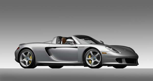 Porsche Type 980 Carrera GT, 2005, Courtesy of the Ingram Collection. A new show at the North Carolina Museum of Art traces the evolution of the iconic car brand. <span class=meta>(Photograph &#38;copy; 2013 Michael Furman via NCMA)</span>