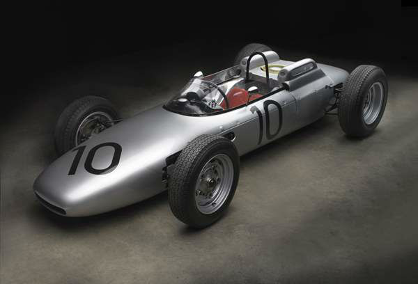 Porsche Type 804 Formula One, 1962, The Porsche Collection of  Ranson W. Webster. A new show at the North Carolina Museum of Art traces the evolution of the iconic car brand. <span class=meta>(Photograph &#38;copy; 2013 Michael Furman)</span>