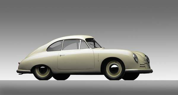 Porsche Type 356 Gm?nd Coupe, 1949, Courtesy of the Ingram Collection. A new show at the North Carolina Museum of Art traces the evolution of the iconic car brand. <span class=meta>(Photograph &#38;copy; 2013 Michael Furman via NCMA)</span>
