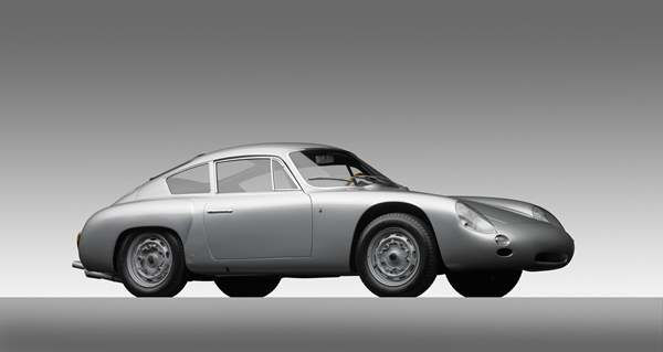 Porsche Type 356B 1600 Carrera GTL Abarth Coupe, 1961, Courtesy of the Ingram Collection. A new show at the North Carolina Museum of Art traces the evolution of the iconic car brand. <span class=meta>(Photograph &#38;copy; 2013 Michael Furman via NCMA)</span>