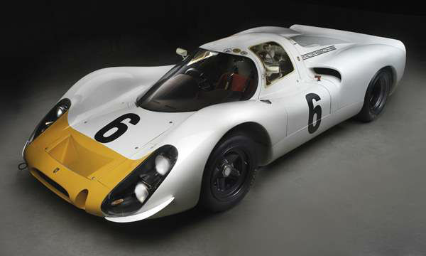 Porsche Type 908K Prototype, 1968, Private collection of Cameron Healy and Susan Snow. A new show at the North Carolina Museum of Art traces the evolution of the iconic car brand. <span class=meta>(Photograph &#38;copy; 2013 Peter Harholdt via NCMA)</span>