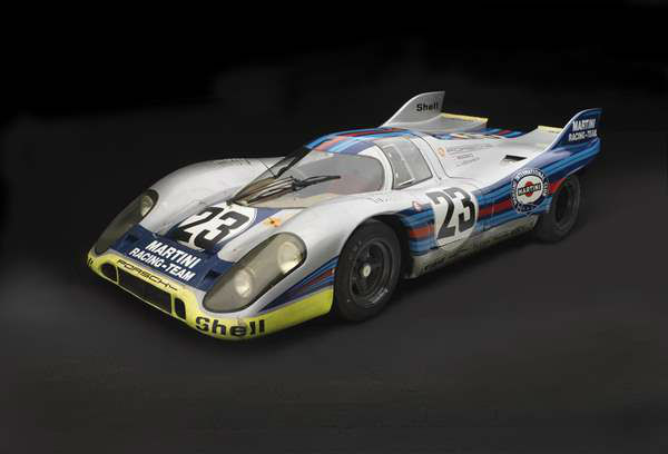 Porsche Type 917K, 1971, The Revs Institute for Automotive Research. A new show at the North Carolina Museum of Art traces the evolution of the iconic car brand. <span class=meta>(Photograph &#38;copy; 2013 Peter Harholdt via NCMA)</span>