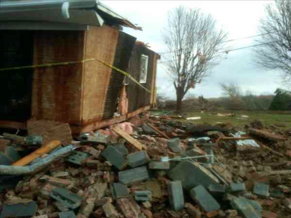 "<div class=""meta ""><span class=""caption-text "">Storm damage in Silver Hill in Davidson County (Photo/ABC11 Reporter Alina Machado)</span></div>"
