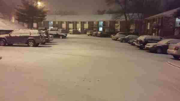 Snow falls around the Triangle. <span class=meta>(WTVD Photo&#47; ABC11 viewer submitted image.)</span>