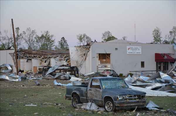Tornados Saturday wreaked incredible damage on homes and cars. <span class=meta>(WTVD Photo&#47; uReport image sent in by ABC11 viewer)</span>