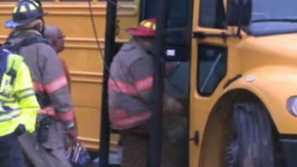 "<div class=""meta image-caption""><div class=""origin-logo origin-image ""><span></span></div><span class=""caption-text"">A power pole toppled over on a school bus in Durham. (WTVD Photo/ Julian Harrison)</span></div>"