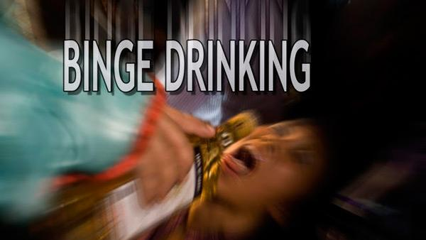 Binge drinking bad for the brain