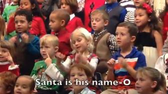 Kids of deaf parents enthusiastically sing, sign at holiday concert