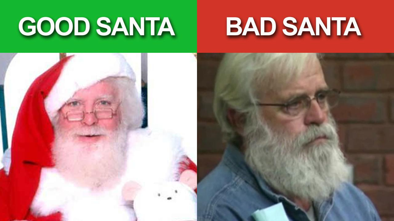 Good Santa vs. Bad Santa