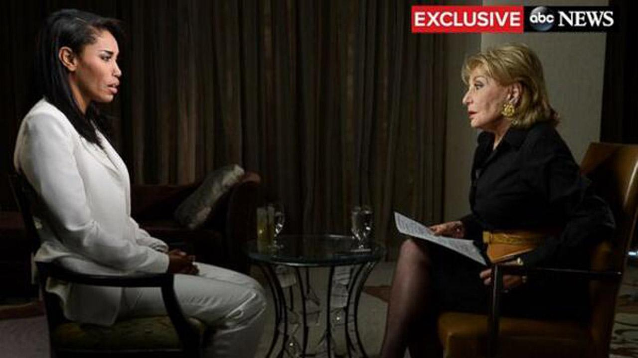 Barbara Walters interviews V. Stiviano on May 2, 2014