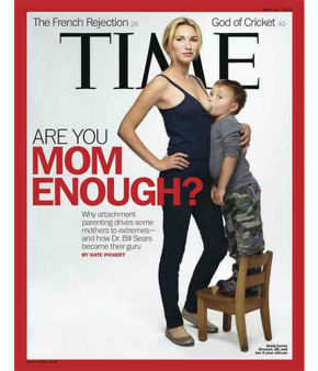 When Time Magazine ran this photo of a 26-year-old mom breastfeeding her 3-year-old son, readers were disgusted and outraged. The article outlined alternative parenting methods, namely attachment parenting. <span class=meta>(AP Photo&#47;Time)</span>