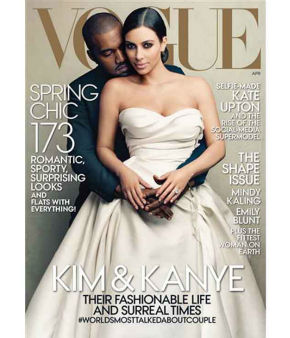 When Kim and Kanye &#40;or &#34;Kimye&#34;&#41; finally got their Vogue cover, there was huge media backlash: why is this woman even famous? But editor-in-chief Anna Wintour defended the cover. Here are more magazine covers that caused controversy when they appeared on newsstands. <span class=meta>(VOGUE&#47;ANNIE LEIBOVITZ)</span>