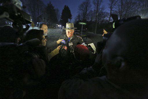 "<div class=""meta image-caption""><div class=""origin-logo origin-image ""><span></span></div><span class=""caption-text"">Connecticut State Police Lt. J. Paul Vance speaks to reporters near Sandy Hook elementary school, early Saturday, Dec. 15, 2012 in Sandy Hook, Conn.   (AP Photo/ Mary Altaffer)</span></div>"