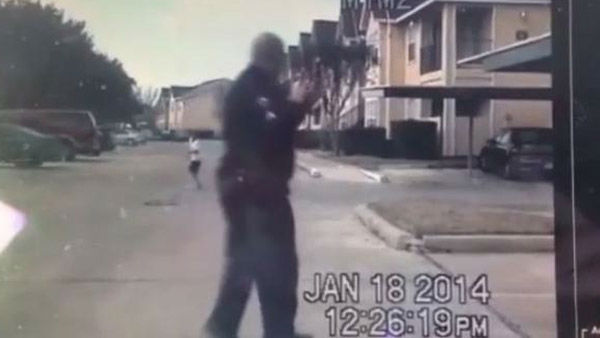 An officer from Rosenberg, Texas, made a powerful impression on many this week when he got out of his cop car and played catch with a young neighborhood boy who was alone outside a housing complex. The game was caught on his dashcam and has now been seen by hundreds of thousands around the nation. The Rosenberg PD says it shows their effort to connect with people in the community.   Good attitude quote: &#34;At that time, he and I both connected...we&#39;re just playing a game of catch, and it was awesome.&#34;  <span class=meta>(Photo&#47;KTRK)</span>