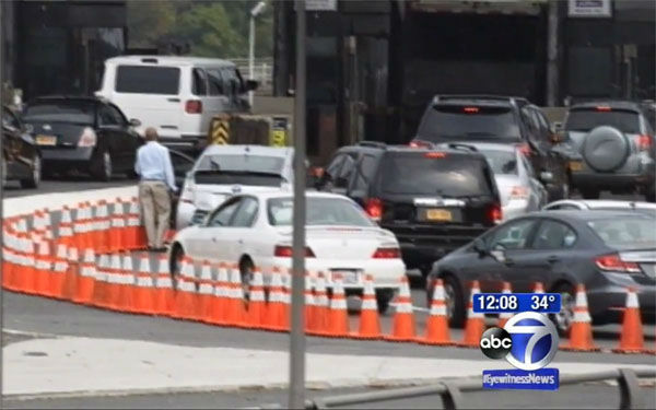 "<div class=""meta ""><span class=""caption-text "">We're in for...causing a major traffic jam  How it could get them arrested: In what many are referring to as ""Bridgegate,"" members of N.J. Gov. Chris Christie's staff have been linked to manufacturing a traffic jam because of a political grudge. Lawsuits have already been filed, and some of those involved could face criminal charges.  Moral of the story: Even if traffic's already pretty bad, people are going to notice if you make it worse on purpose.  (Photo/WABC)</span></div>"