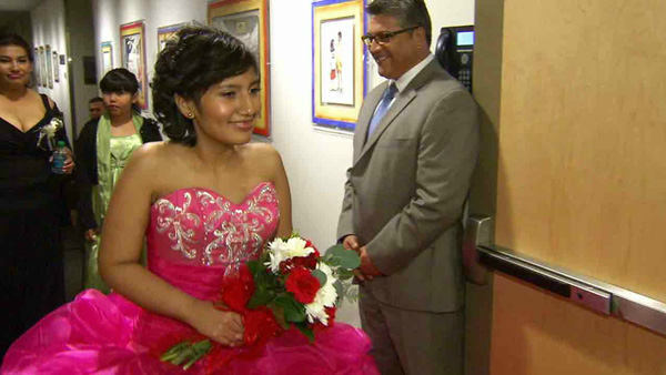 Watching her quinceanera dreams come to life   Frida Lagunas wanted her 15th birthday to be special, and a special community didn&#39;t want her cancer to ruin her big day: the hospital staff! They took care of all the details, and     Frida got to celebrate with the people who she says she&#39;s come to think of as family.   <span class=meta>(KABC)</span>